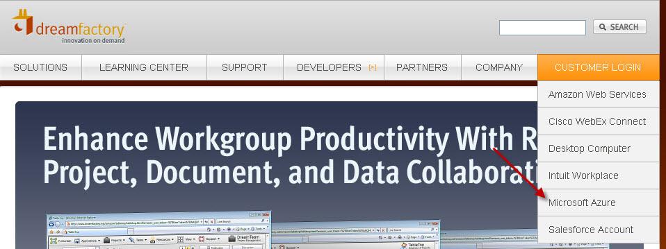 DreamFactory Wiki / Microsoft Azure Platform